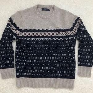 J. Crew 100% Lambs Wool Crewneck Sweater